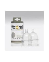 Cumlík na fľašu YOOMI - pomalý prietok 2ks