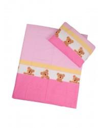Obliečky Antony (ružové) - Macík