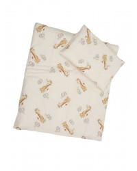 Obliečky Antony (smotanová) - Žirafky