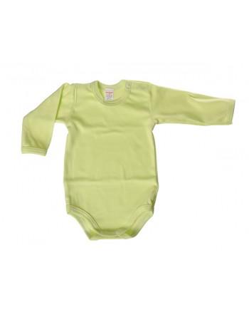 Body dlhý rukáv Antony - jednofarebné (zelené)
