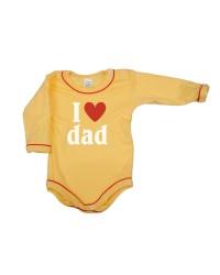 Body dlhý rukáv Antony - Dad - žlté