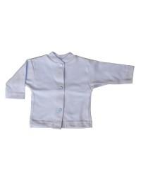 Bavlnený kabátik jednofarebný Antony - (modrý)