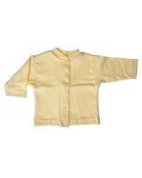 Bavlnený kabátik jednofarebný Antony - (žltý)