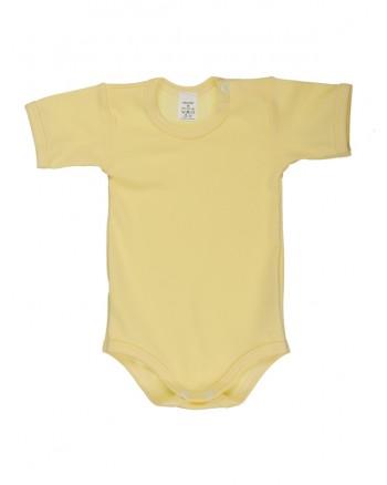 Body krátky rukáv Antony (jednofarebné) - žlté