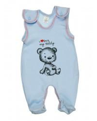 Dupačky Antony - i love my teddy - modré