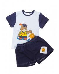Dvojdielna letná súprava Antony (Basketball) - modrá