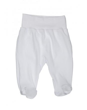 Polodupačky Antony (jednofarebné) - biele