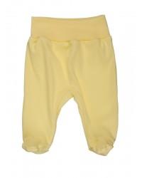 Polodupačky Antony (jednofarebné) - žlté