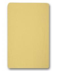 Nepremokavé prestieradlo Antony (žlté) - 155g (gumené obšitie)