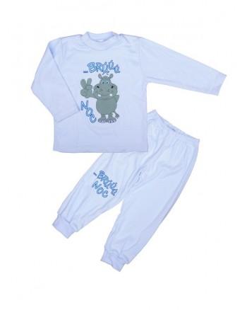 Pyžamo Hrošík Antony - brúú noc - modré