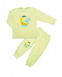 Pyžamo Antony Macko na mesiaci - zelené