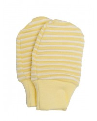 Kojenecké rukavičky Antony (pásik) - žlté