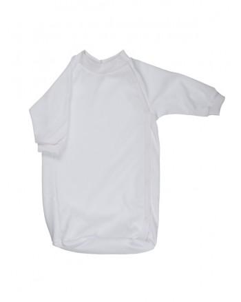 Bavlnený spací vak Antony (jednofarebný) - biely