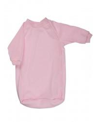 Bavlnený spací vak Antony (jednofarebný) - ružový