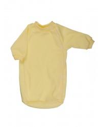 Bavlnený spací vak Antony (jednofarebný) - žltý