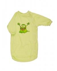Bavlnený spací vak Antony - Strašidlo - zelený