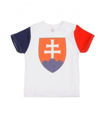 Tričko Antony krátky rukáv (biele) - SLOVENSKO 1