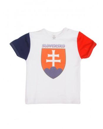 Tričko Antony krátky rukáv (biele) - SLOVENSKO 2