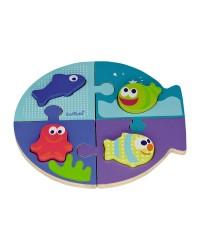 Dvoj-puzzle Boikido - Morský svet