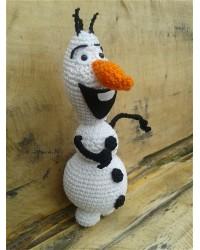 BS Háčkovaný snehuliak Olaf
