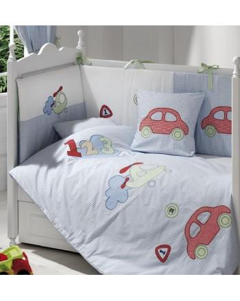 3-dielna posteľná súprava Funnababy - Viaggio