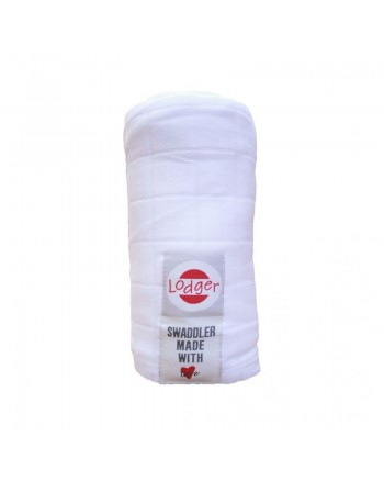 Osuška Lodger Swaddler Cotton - White