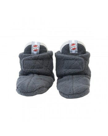 Capačky Lodger Slipper Fleece Scandinavian Coal 12-18m