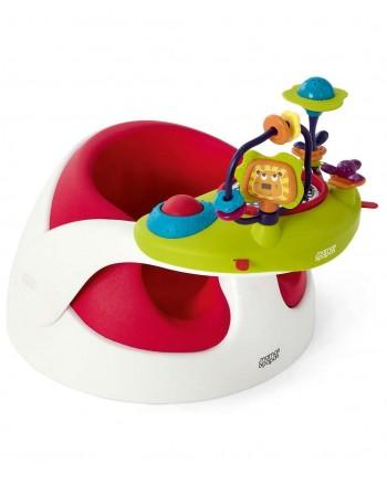 Stolička Snug s hračkou - Red - Mamas&Papas