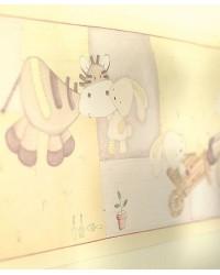 Tapetová bordúra Zeddy&Parsnip - Mamas&Papas