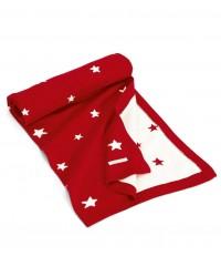 Pletená deka Red Star Vianočná - Mamas&Papas