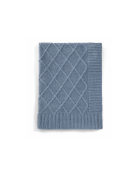 Pletená deka Mamas&Papas Denim modrá