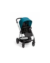 Kočík Mamas&Papas Sola2 - Petrol Blue - chromová konštrukcia