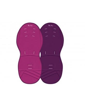 Podložka do kočíka Purple / Raspberry - Silver Cross
