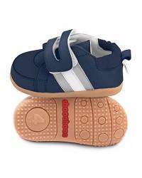 Kožené topánočky Shooshoos - Navy Seal