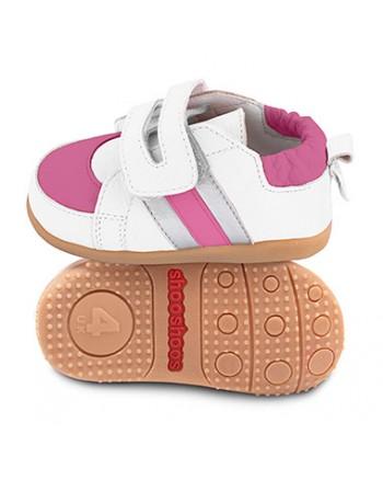 Kožené topánočky Shooshoos - Hopscotch - 23