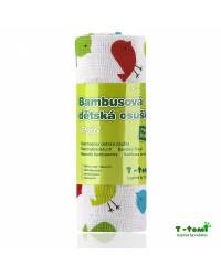 Bambusová osuška T-tomi - Vtáčiky
