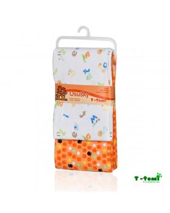 Flanelové osušky T-tomi - Oranžová