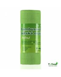 Bambusová osuška T-tomi - zelená