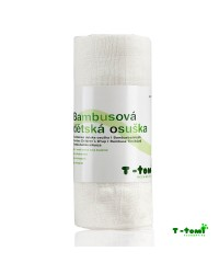 Bambusová osuška T-tomi - biela