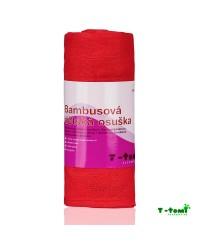 Bambusová osuška T-tomi - ružová