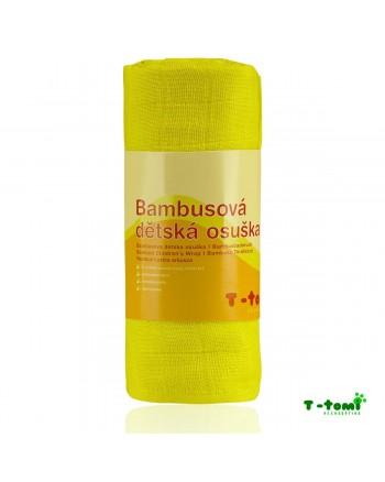 Bambusová osuška T-tomi - žltá