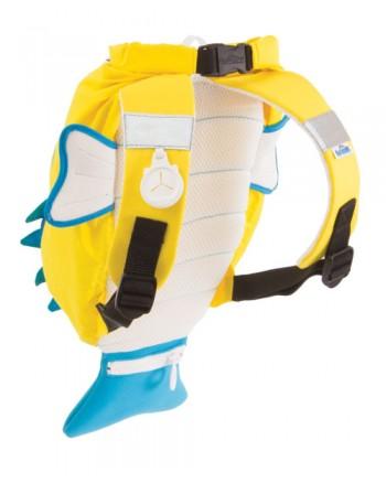 Nepremokavý ruksak Trunki - Štvorzubec (žltý 7.5L)