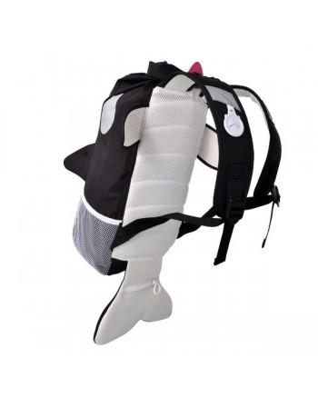 Nepremokavý ruksak Trunki - Kosatka (čierny 10L)