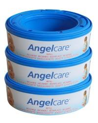 Angelcare Captiva náhradná náplň do koša na plienky 3ks