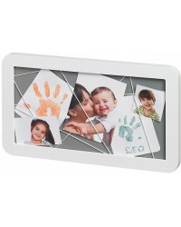 Baby Art Memory Board - White/Grey