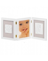 Baby Art My Sweet Memories Double Frame - White