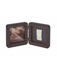 Baby Art Rámik My Baby Touch Wood Copper Edition Dark