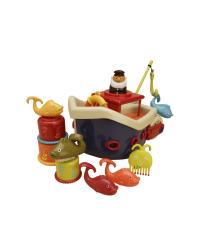 B-Toys Loď s kapitánom Fish & Splish