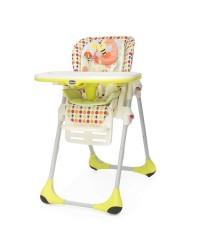 Jedálenská stolička Chicco Polly 2v1 New - Sunny