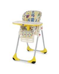 Jedálenská stolička Chicco Polly 2v1 New - Energy